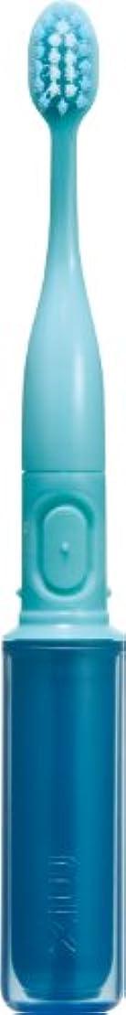 解体するタイマー環境保護主義者ラドンナ 携帯音波振動歯ブラシ mix (ミックス) MIX-ET ブルー