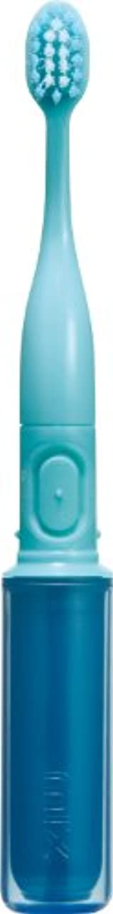 ドリル追加大脳ラドンナ 携帯音波振動歯ブラシ mix (ミックス) MIX-ET ブルー