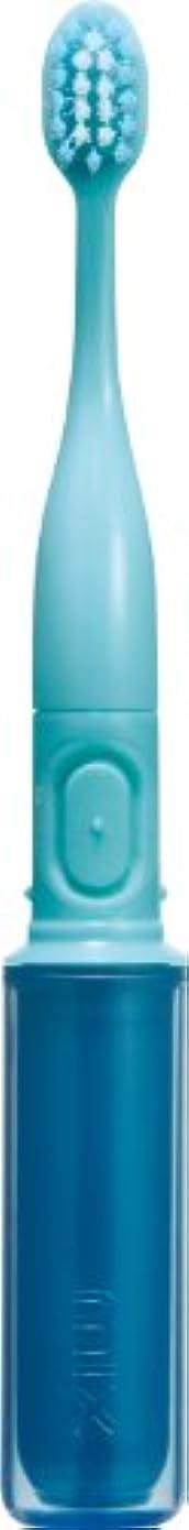 側溝ペンフレンド現代ラドンナ 携帯音波振動歯ブラシ mix (ミックス) MIX-ET ブルー