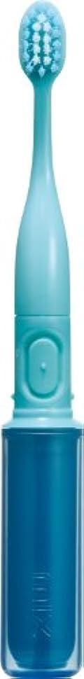 合法助言するアクセントラドンナ 携帯音波振動歯ブラシ mix (ミックス) MIX-ET ブルー