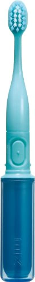 チャレンジ敵マイクロプロセッサラドンナ 携帯音波振動歯ブラシ mix (ミックス) MIX-ET ブルー