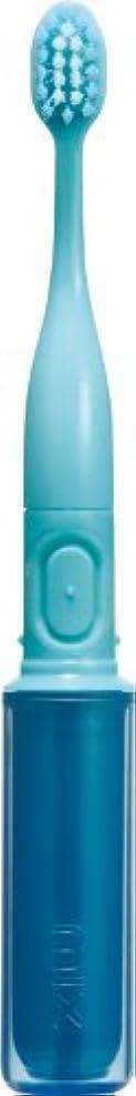 予防接種する塗抹手がかりラドンナ 携帯音波振動歯ブラシ mix (ミックス) MIX-ET ブルー