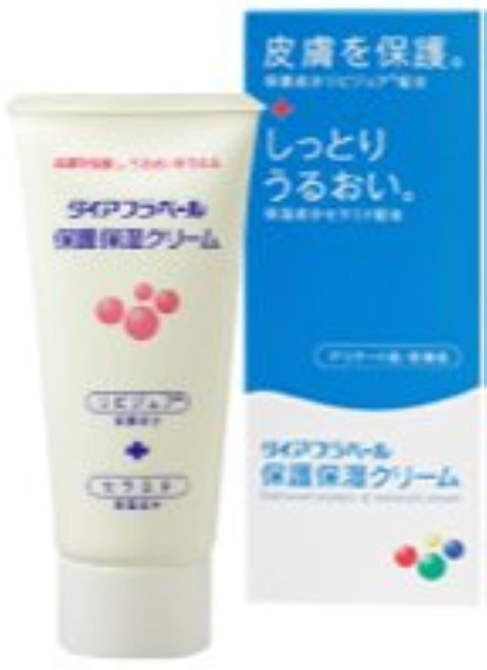 洗う幼児従うダイアフラベール 保護保湿クリーム 60g×(5セット)