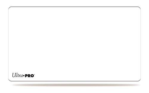 プレイマット ホワイト(白無地) 61x34cm 【ウルトラプロ】