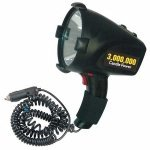 Westward 5RHN6 Spotlight, Rechargeable System, Black by WestWard Tools
