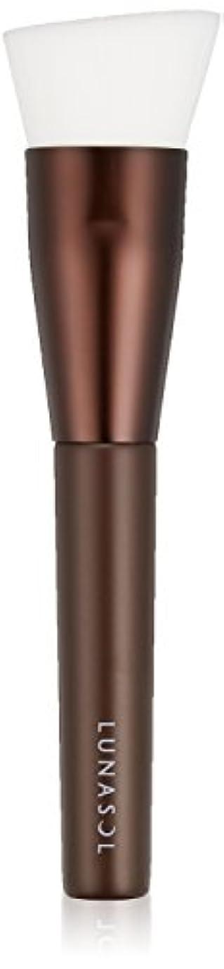 長方形若さ普通にルナソル ファンデーションブラシ 化粧小物