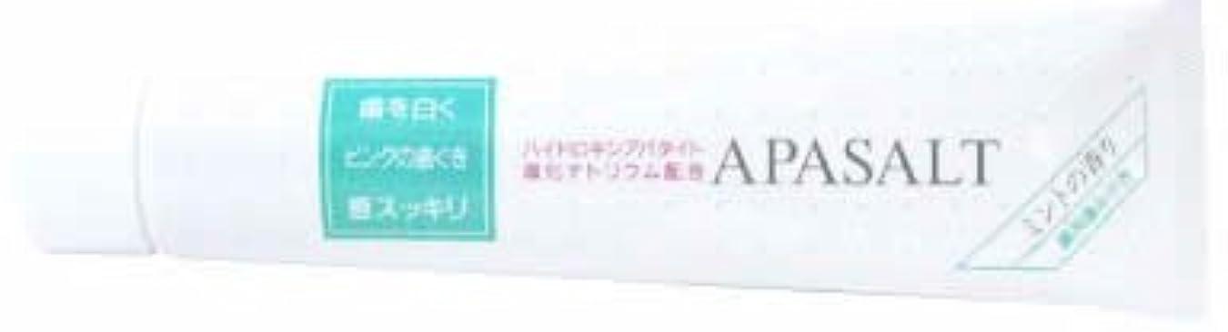 肌献身黒くするアパソルト10 薬用歯みがき 120g