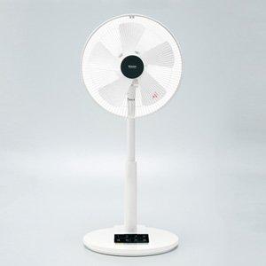 モリタ 【扇風機】リビング扇(リモコン付 ホワイト)MORITA MF-D317R-W