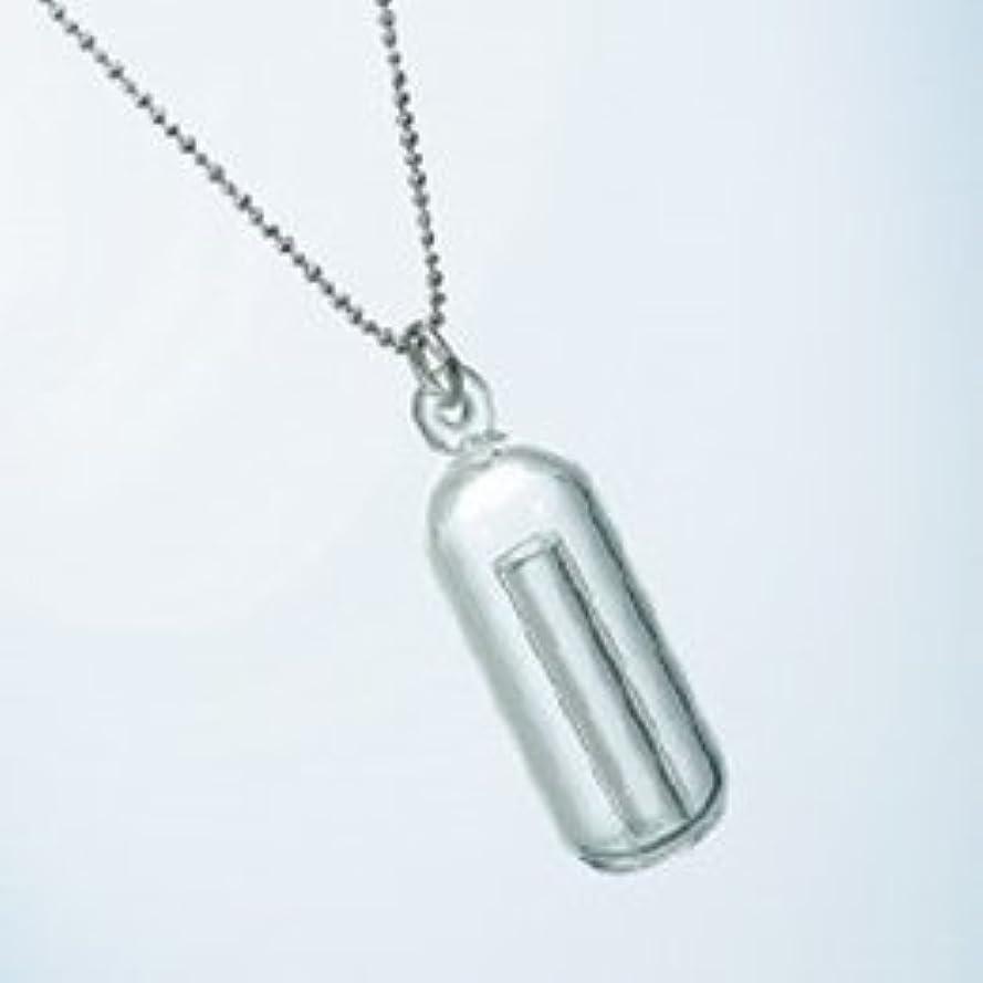 ヒロイックはがきダイヤモンドグラスネックレス アロマの雫 ドロップ スポイト付き