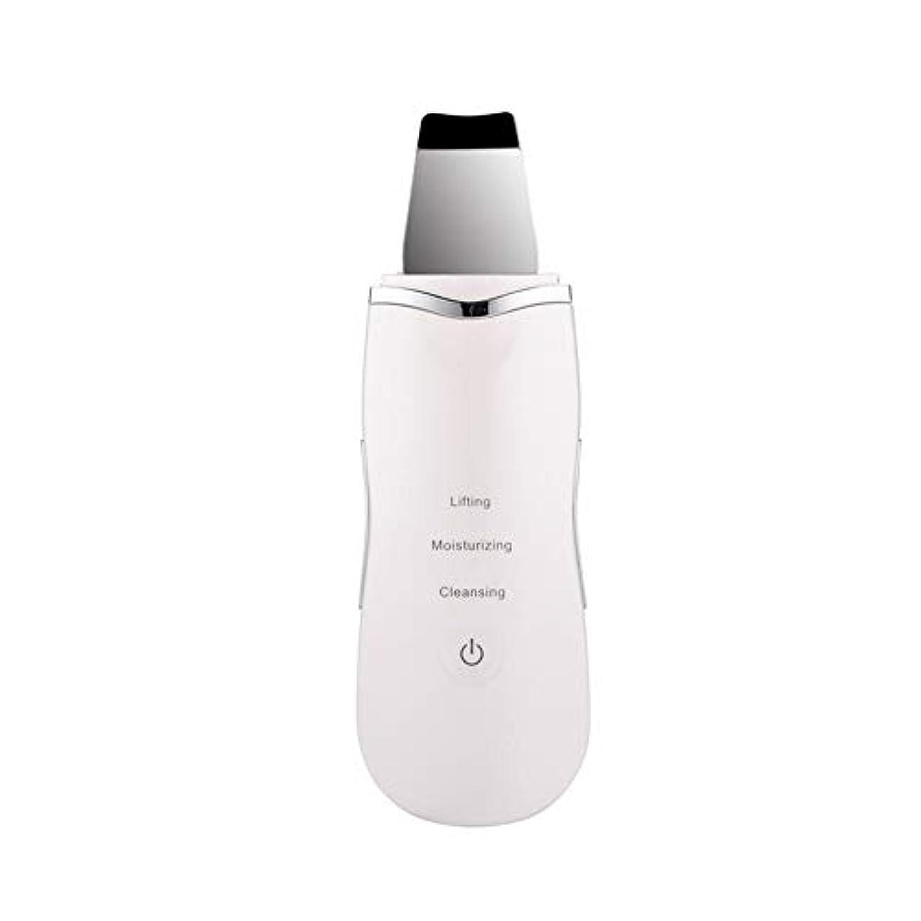 プロフェッショナル超音波フェイシャルスキンスクラバーイオンディープフェイスクリーニングピーリング充電式スキンケアデバイス美容器具
