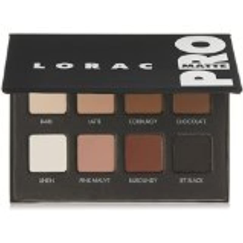 勇敢な特殊解明するLORAC PRO Matte Eye Shadow Palette
