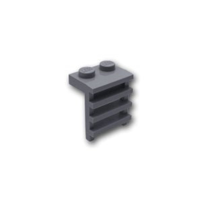 レゴブロックパーツ プレート 1 x 2 はしご:[Dark Bluish Gray / ダークグレー]【並行輸入品】