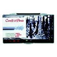 Conte 0.25 X 2.5で。クレヨンin Plastic box44 ;パック12