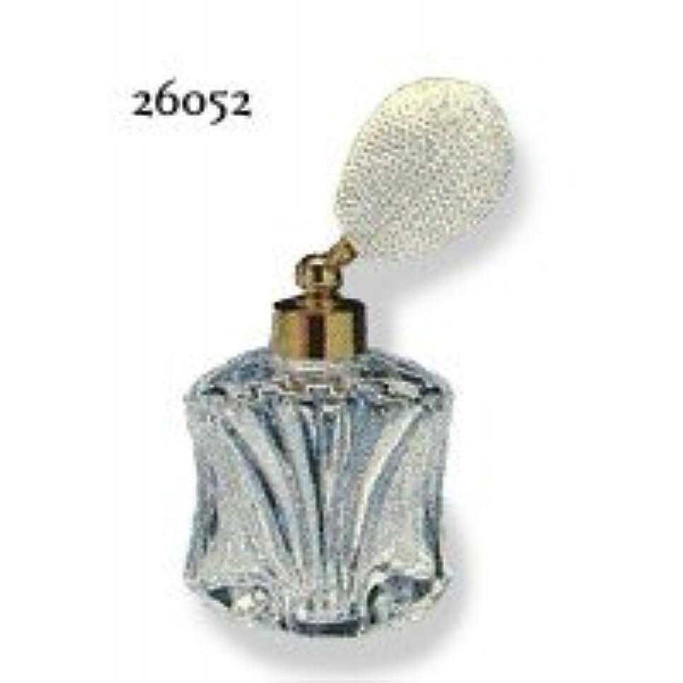 博覧会メタリックコンサートドイツ製クリスタル香水瓶リードクリスタル 短