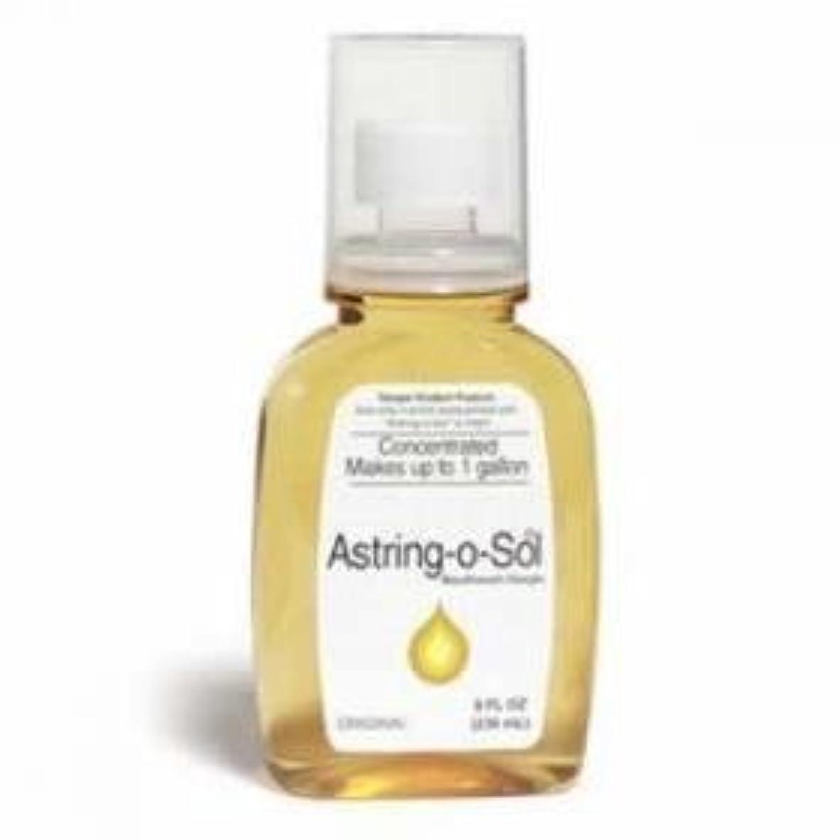 衝突コースもっと少なく崖Astring-O-Sol Concentrated Mouthwash/Gargle, Original - 8 oz Each (PACK OF 3) by ASTRING-O-SOL [並行輸入品]