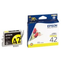 EPSON インクカートリッジ イエロー ICY42 1個