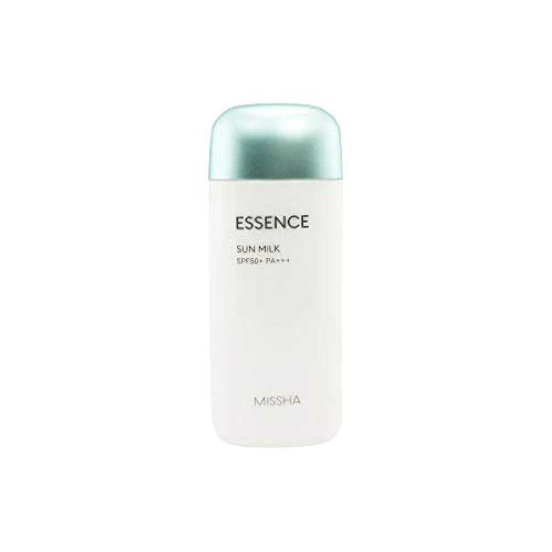 千損失盲目Missha All-around Safe Block Essence Sun Milk Spf50+/pa+++ 70ml [並行輸入品]