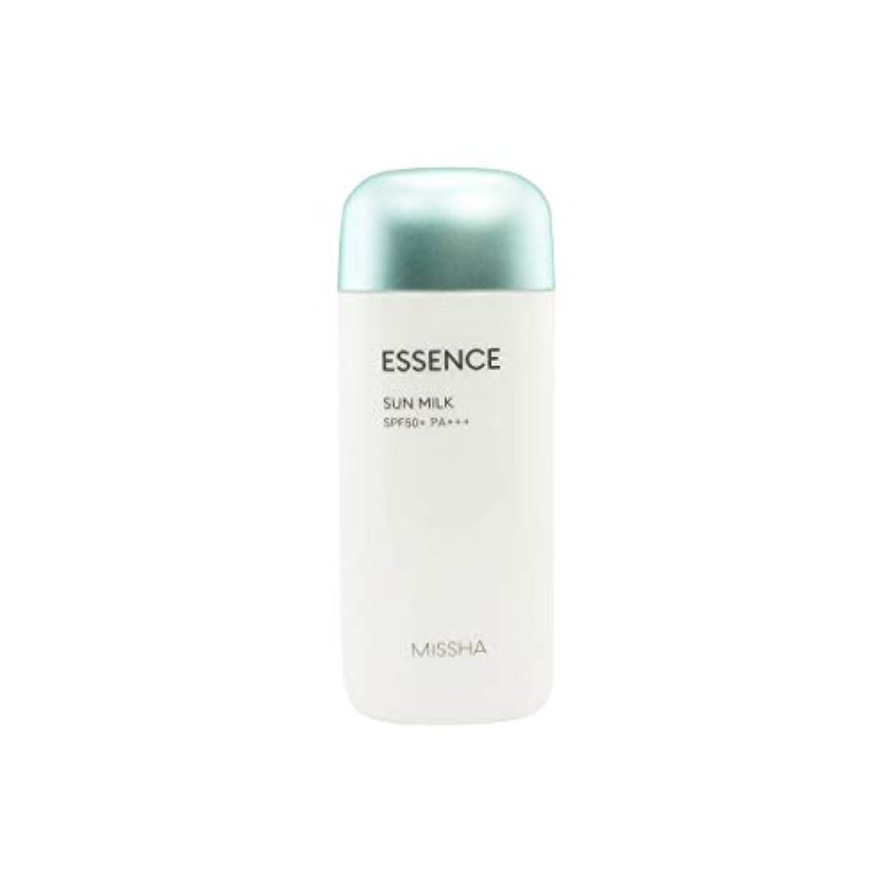 知覚前置詞主張するMissha All-around Safe Block Essence Sun Milk Spf50+/pa+++ 70ml [並行輸入品]