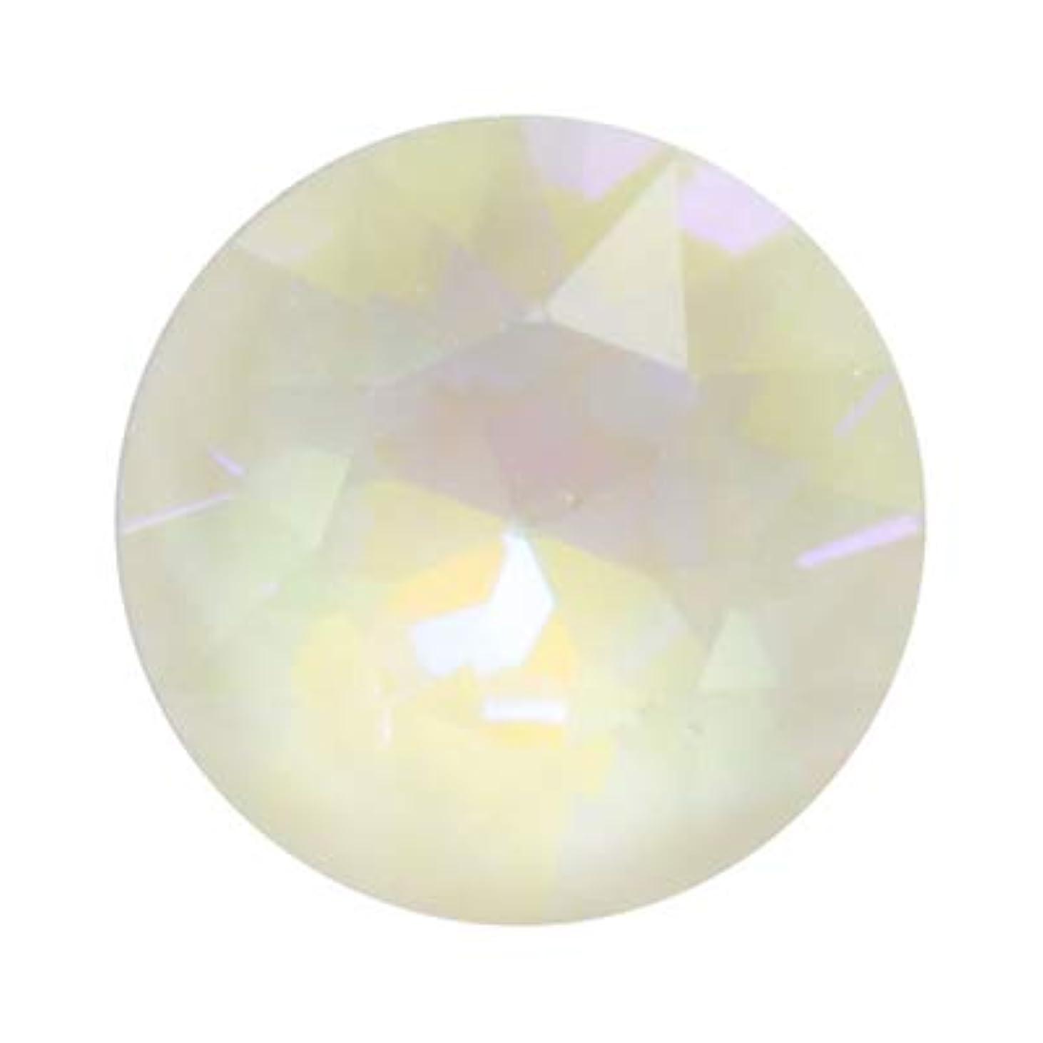 走る黒社員SWAROVSKI クリスタル ライトグレイ ディライト #1088 チャトン(Vカット) ss29 12p