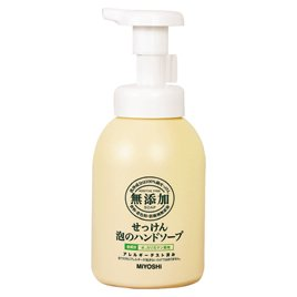 ミヨシ石鹸 無添加せっけん泡のハンド詰替300ml