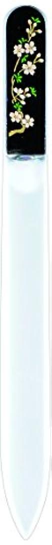 再編成する忌み嫌う雄弁な橋本漆芸 ブラジェク製高級爪ヤスリ 三月 桜 紙箱