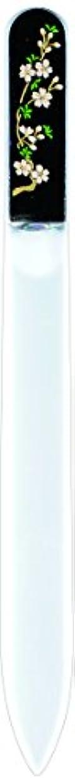 インデックス矢印好きである橋本漆芸 ブラジェク製高級爪ヤスリ 三月 桜 紙箱