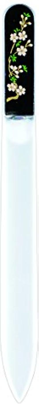 ブラウスファランクス食事を調理する橋本漆芸 ブラジェク製高級爪ヤスリ 三月 桜 紙箱