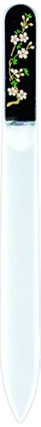 有料ディスコハロウィン橋本漆芸 ブラジェク製高級爪ヤスリ 三月 桜 紙箱