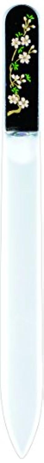 オリエンタル同等のスタッフ橋本漆芸 ブラジェク製高級爪ヤスリ 三月 桜 紙箱