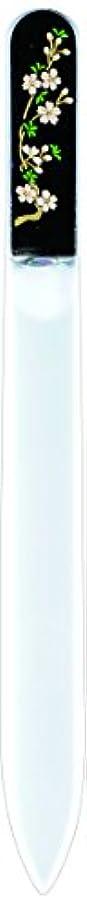 呼吸アラバマ脅迫橋本漆芸 ブラジェク製高級爪ヤスリ 三月 桜 紙箱