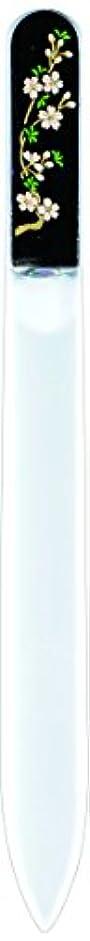 消化器ポルティコ鉛筆橋本漆芸 ブラジェク製高級爪ヤスリ 三月 桜 紙箱