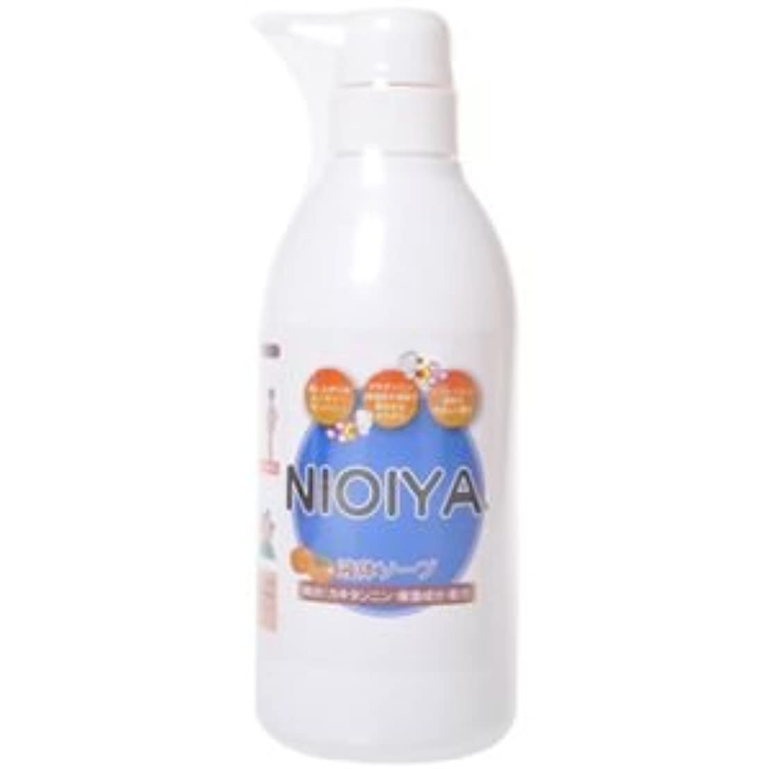 どっち効率的経過NIOIYA 柿渋配合 液体ソープ 500ml 【2セット】