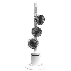 RoomClip商品情報 - apro DCタワーファン 7枚羽根のスタイリッシュな3連タワー型 扇風機