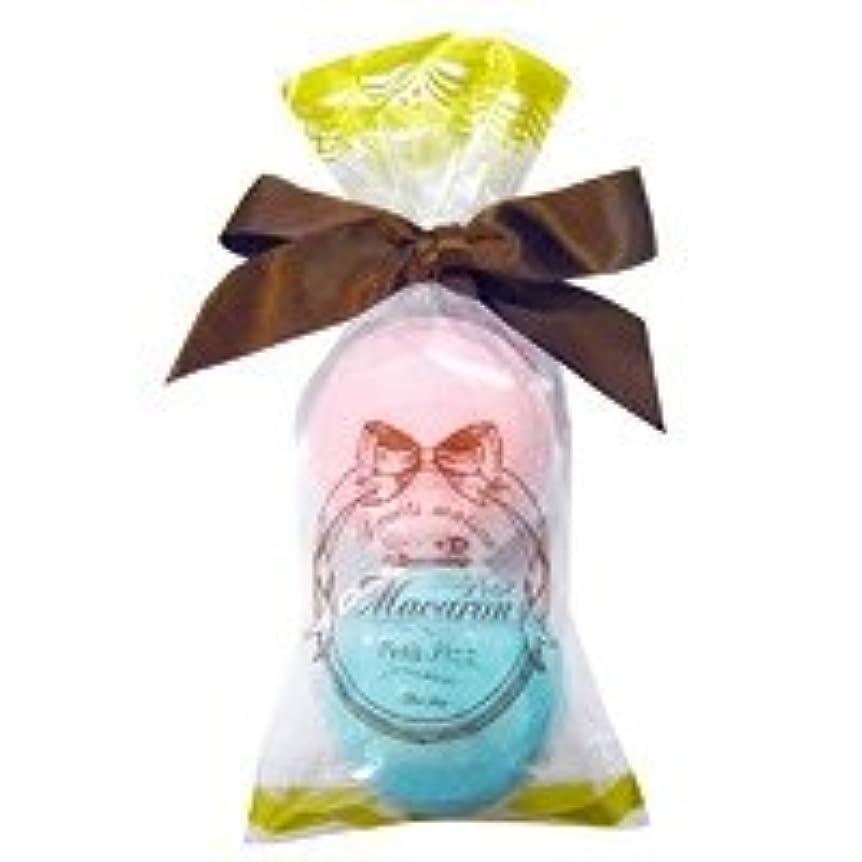 丘印象的なナビゲーションスウィーツメゾン プチマカロンミニセット「ピンク&ターコイズ」6個セット 甘酸っぱいラズベリーの香り&香り豊かなグリーンティの香り