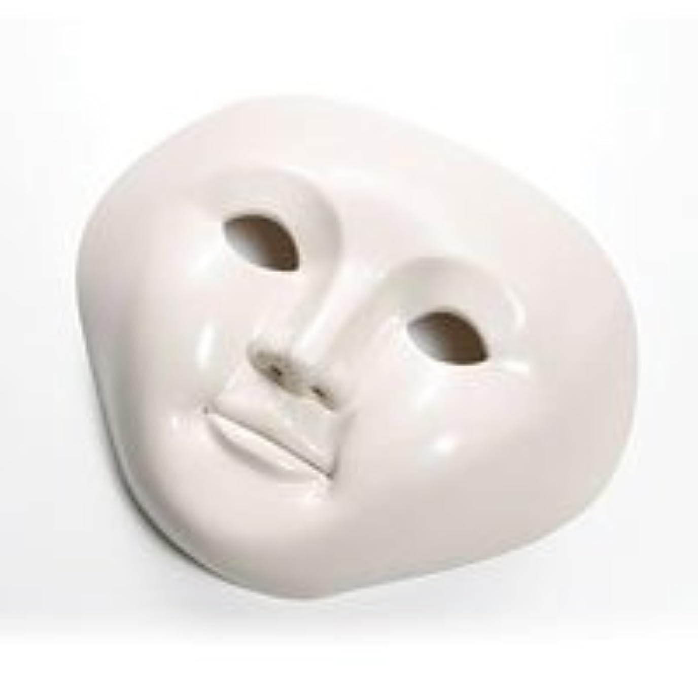 プラカード真鍮代わりに湯の花美人 【ラジウムの美顔マスク】