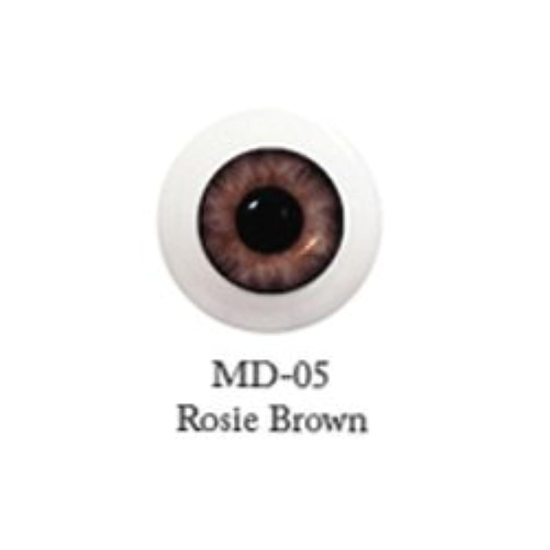 ドール用アクリルアイ ミスティックアイ 18mm 【MD-05ローズブラウン】(並行輸入品)