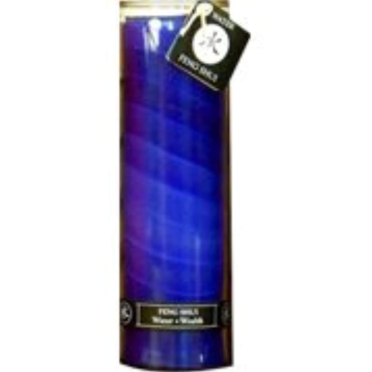 バン単語窒息させる海外直送品Feng Shui Palm Wax Jar Candle, Water Wealth 16 oz by Aloha Bay