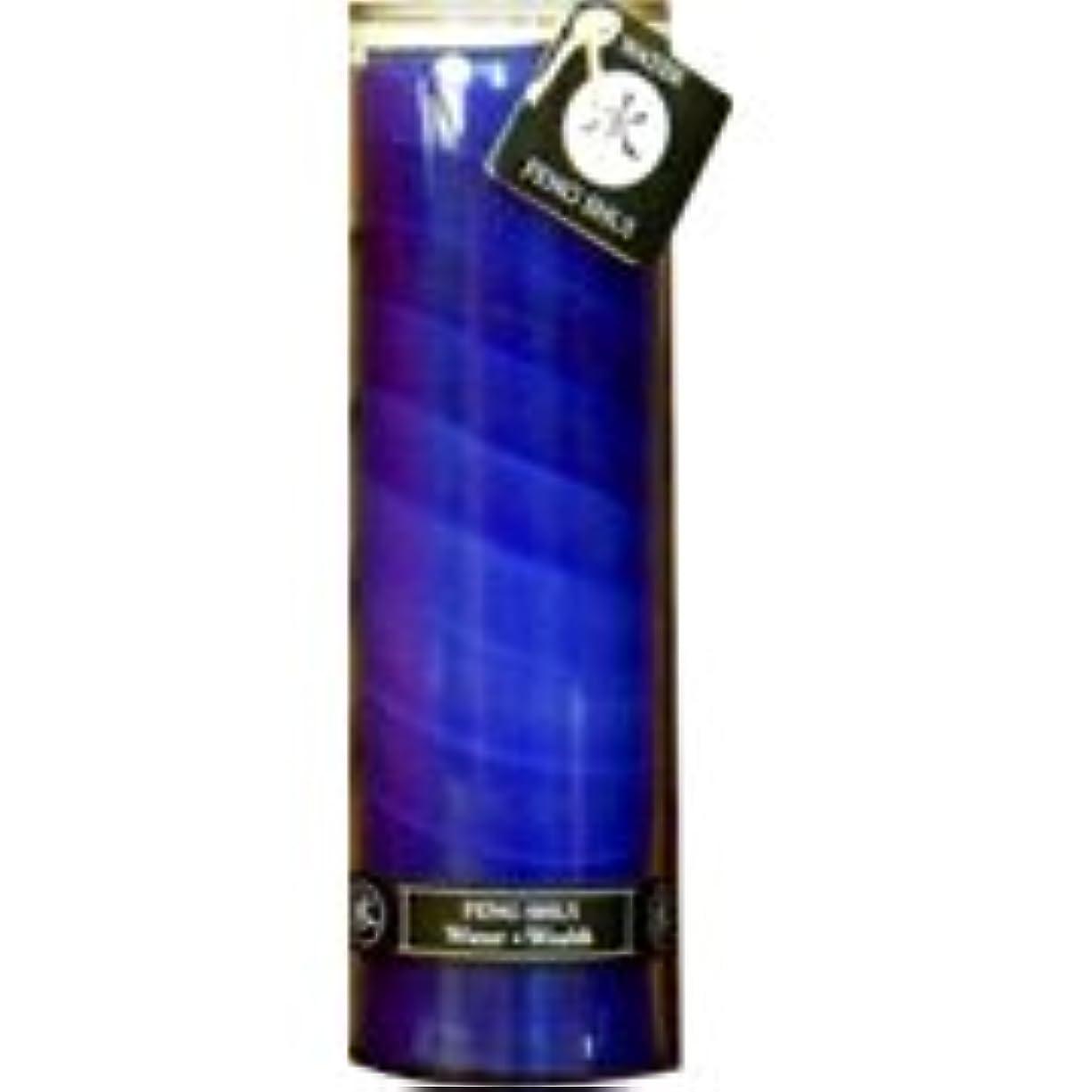 混合した施し上流の海外直送品Feng Shui Palm Wax Jar Candle, Water Wealth 16 oz by Aloha Bay