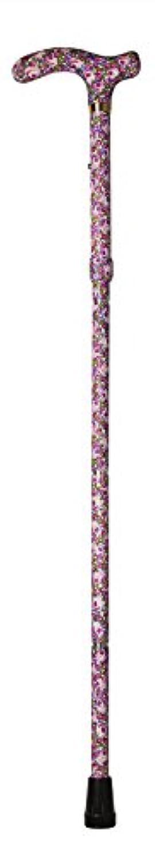 ルネッサンス強います飛ぶ折りたたみ杖?アルミ製/上賀茂(つや無)TH-013-B