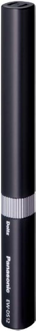 ハック強いセッティングパナソニック ポケットドルツ 音波振動ハブラシ 黒 EW-DS12-K