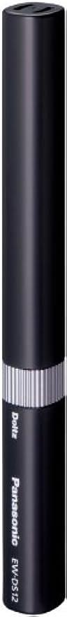 体機関大声でパナソニック ポケットドルツ 音波振動ハブラシ 黒 EW-DS12-K