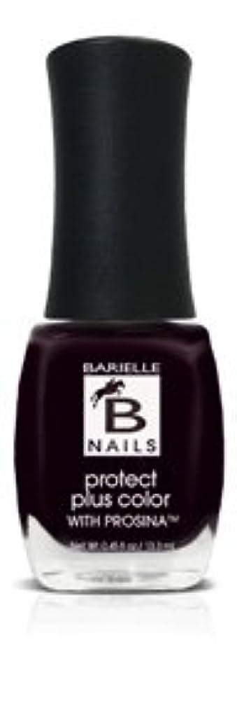 整理する嵐交通Bネイルプロテクト+ネイルカラー(プロッシーナ) - ブラックローズ