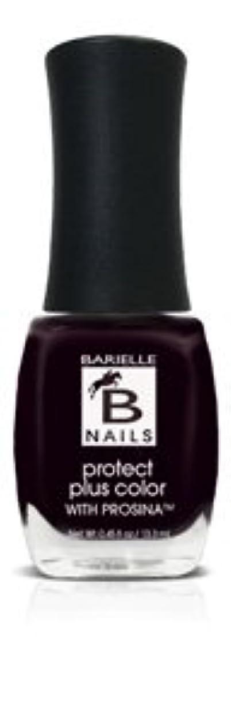 Bネイルプロテクト+ネイルカラー(プロッシーナ) - ブラックローズ
