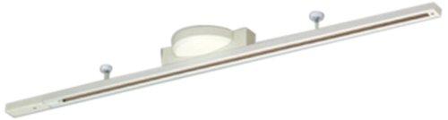 東芝ライテック 簡易取付形ライティングレール (R) アルミ・鋼板 ホワイト 1m