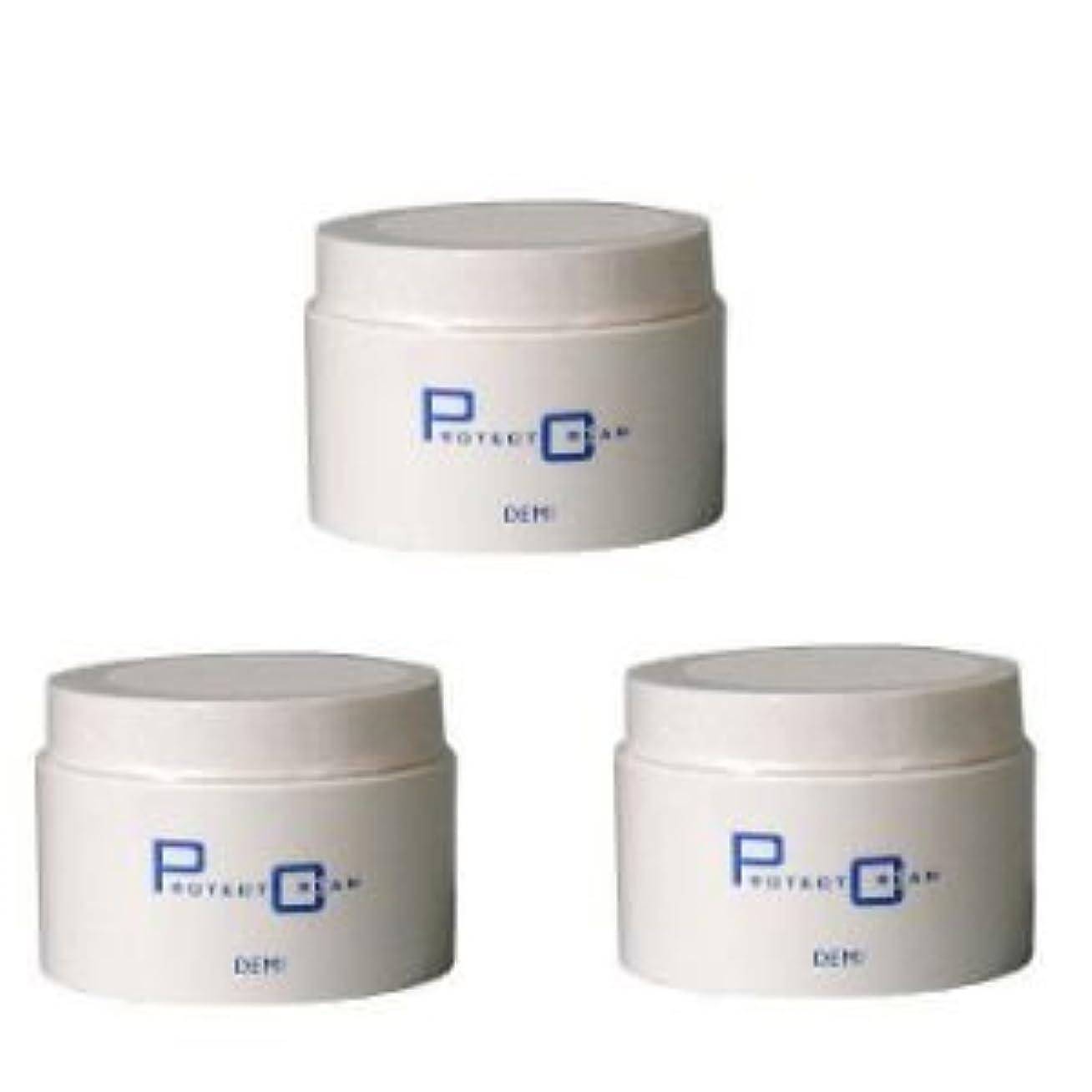 パトロン対抗分岐する【×3個セット】デミ プロテクトクリーム 170g