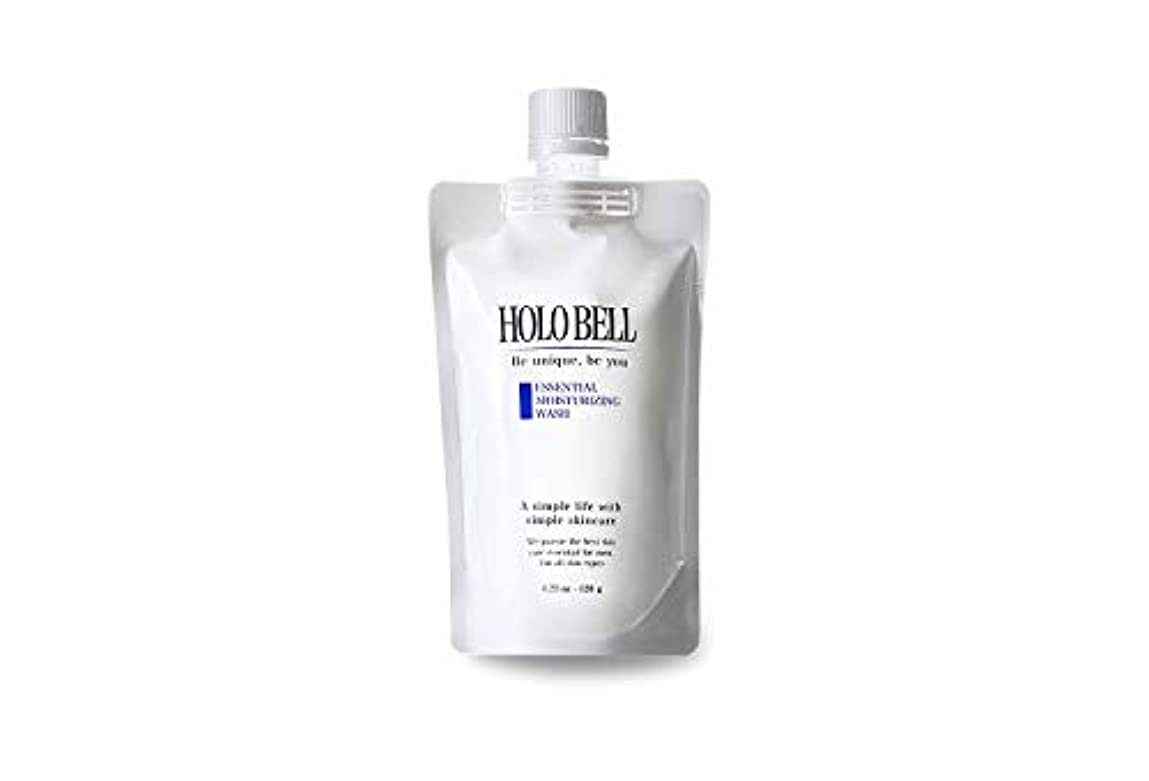 傷つきやすい追加するダンプエッセンシャル保湿ウォッシュ 120g【HOLOBELL(ホロベル)】男性用 メンズ 洗顔料 フォーム(メンズ スキンケア)フェイスケア 低刺激 濃密泡