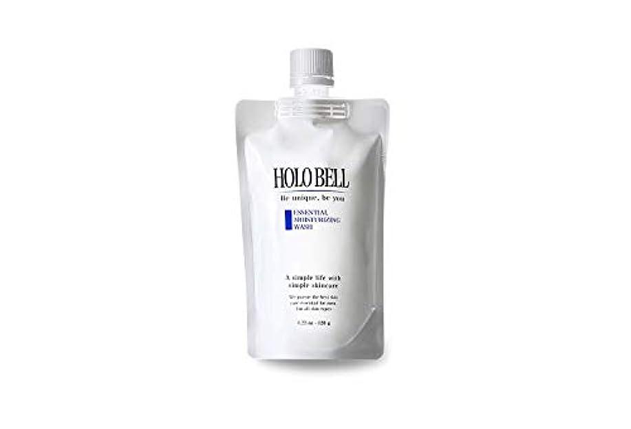 不安定デンマークを通してエッセンシャル保湿ウォッシュ 120g【HOLOBELL(ホロベル)】男性用 メンズ 洗顔料 フォーム(メンズ スキンケア)フェイスケア 低刺激 濃密泡