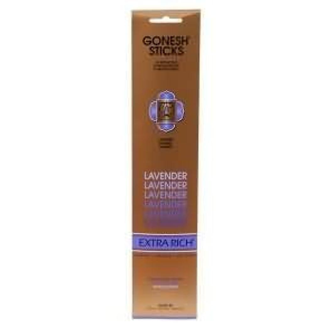 行方不明レギュラーグッゲンハイム美術館Gonesh Incense Sticks Extra Richコレクション – ラベンダー5パック(合計100 )