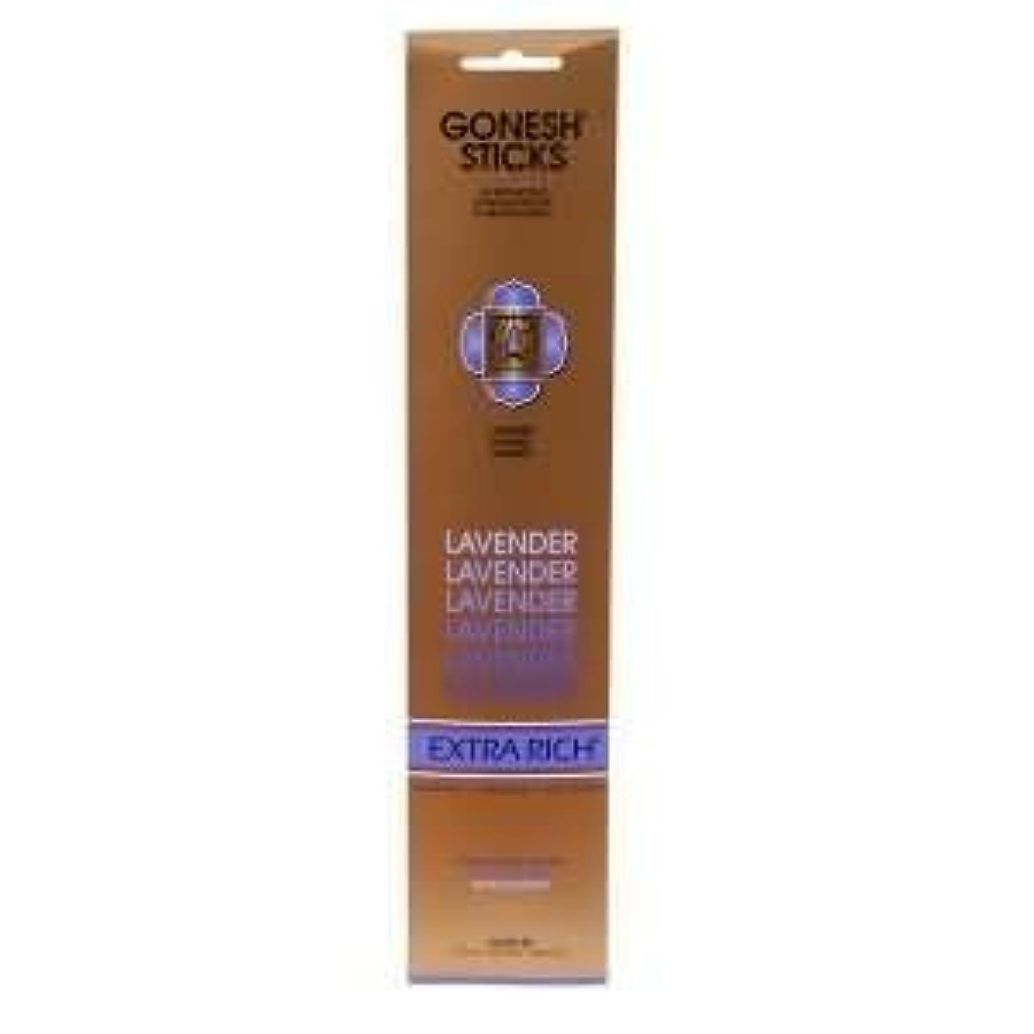 以来ジョイント偶然Gonesh Incense Sticks Extra Richコレクション – ラベンダー5パック(合計100 )
