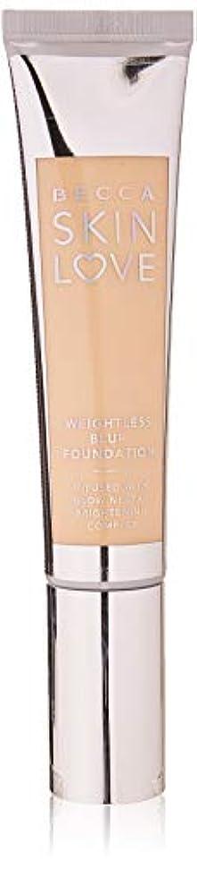 宝石曲線シソーラスベッカ Skin Love Weightless Blur Foundation - # Shell 35ml/1.23oz並行輸入品